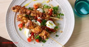 Chicken Kebabs With Couscous