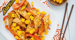 Chicken Stir-Fry With Lemon and Mango