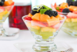 Fruit Salad With Lemon And Ginger Syrup
