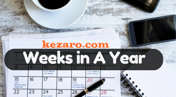 HOW MANY WEEKS IN A YEAR, INTERESTING INFORMATION