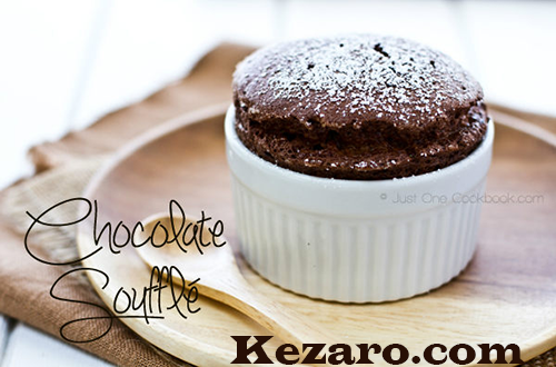 RICH CHOCOLATE SOUFFLES